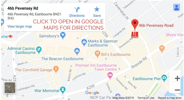 AIR BARBERS 46b Pevensey Road Eastbourne